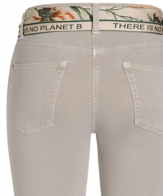 Hose Paris cropped von Cambio in sand